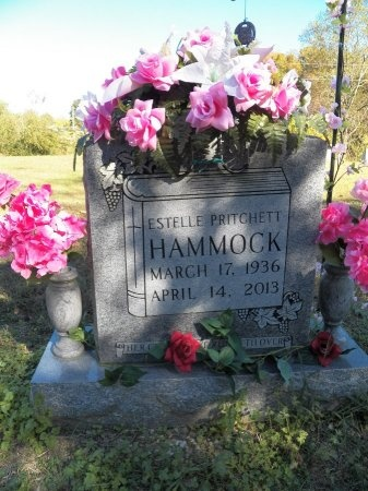 PRITCHETT HAMMOCK, ESTELLE - Jackson County, Tennessee | ESTELLE PRITCHETT HAMMOCK - Tennessee Gravestone Photos