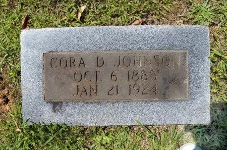 JOHNSON, CORA D. - Jackson County, Tennessee | CORA D. JOHNSON - Tennessee Gravestone Photos
