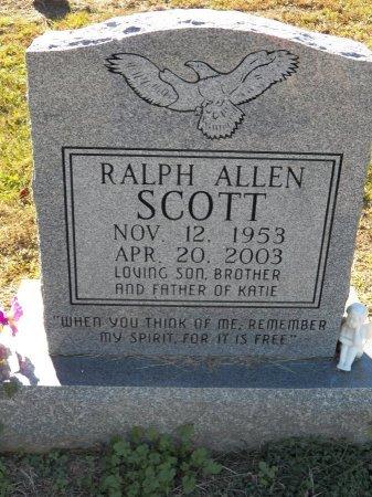 SCOTT, RALPH ALLEN - Jackson County, Tennessee | RALPH ALLEN SCOTT - Tennessee Gravestone Photos