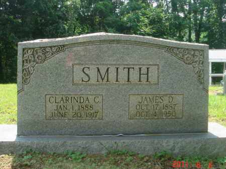 SMITH, JAMES D - Jackson County, Tennessee | JAMES D SMITH - Tennessee Gravestone Photos