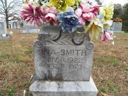 SMITH, INA - Jackson County, Tennessee   INA SMITH - Tennessee Gravestone Photos