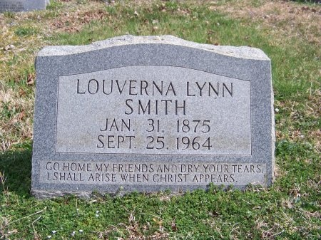 "SMITH, LOUVERNA ""VERNA"" - Jackson County, Tennessee 