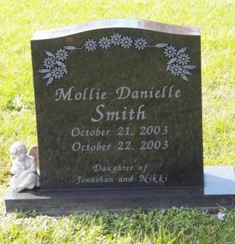 SMITH, MOLLIE DANIELLE - Jackson County, Tennessee | MOLLIE DANIELLE SMITH - Tennessee Gravestone Photos