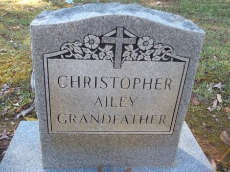 AILEY, CHRISTOPHER - Jefferson County, Tennessee | CHRISTOPHER AILEY - Tennessee Gravestone Photos