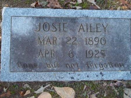 AILEY, JOSIE - Jefferson County, Tennessee | JOSIE AILEY - Tennessee Gravestone Photos
