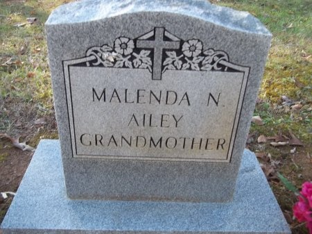 AILEY, MALENDA N. - Jefferson County, Tennessee | MALENDA N. AILEY - Tennessee Gravestone Photos