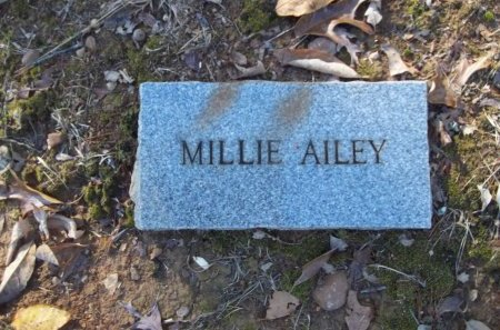 AILEY, MILLIE - Jefferson County, Tennessee | MILLIE AILEY - Tennessee Gravestone Photos