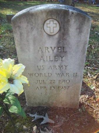AILEY (VETERAN WWII), ARVEL - Jefferson County, Tennessee | ARVEL AILEY (VETERAN WWII) - Tennessee Gravestone Photos