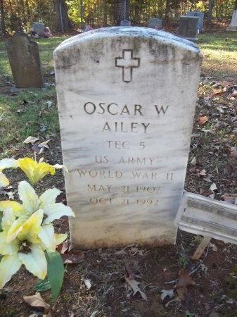AILEY (VETERAN WWII), OSCAR W - Jefferson County, Tennessee | OSCAR W AILEY (VETERAN WWII) - Tennessee Gravestone Photos