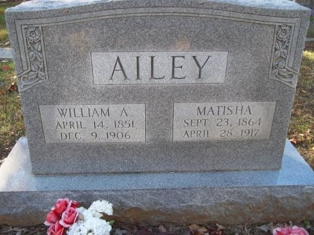 AILEY, WILLIAM A. - Jefferson County, Tennessee | WILLIAM A. AILEY - Tennessee Gravestone Photos