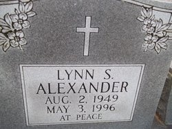 ALEXANDER, LYNN S. - Jefferson County, Tennessee | LYNN S. ALEXANDER - Tennessee Gravestone Photos
