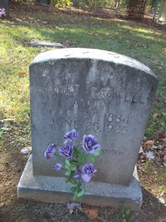 ALLEN, JAMES CASWELL - Jefferson County, Tennessee | JAMES CASWELL ALLEN - Tennessee Gravestone Photos