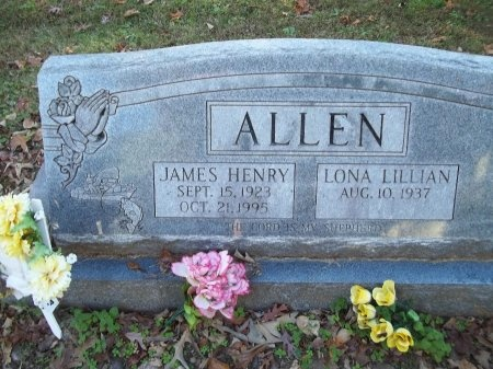 ALLEN, JAMES HENRY - Jefferson County, Tennessee | JAMES HENRY ALLEN - Tennessee Gravestone Photos
