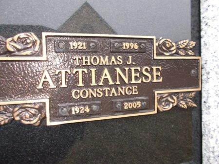 ATTIANESE, THOMAS J. - Jefferson County, Tennessee | THOMAS J. ATTIANESE - Tennessee Gravestone Photos