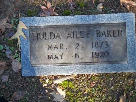 BAKER, HULDA - Jefferson County, Tennessee | HULDA BAKER - Tennessee Gravestone Photos