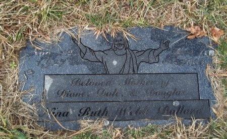 BALLARD, NINA RUTH - Jefferson County, Tennessee | NINA RUTH BALLARD - Tennessee Gravestone Photos