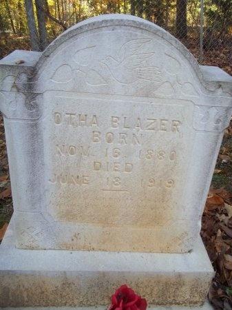 BLAZER, OTHA MCCAJAH - Jefferson County, Tennessee   OTHA MCCAJAH BLAZER - Tennessee Gravestone Photos