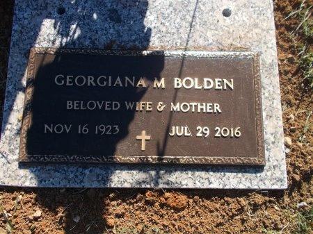 BOLDEN, GEORGIA M. - Jefferson County, Tennessee | GEORGIA M. BOLDEN - Tennessee Gravestone Photos