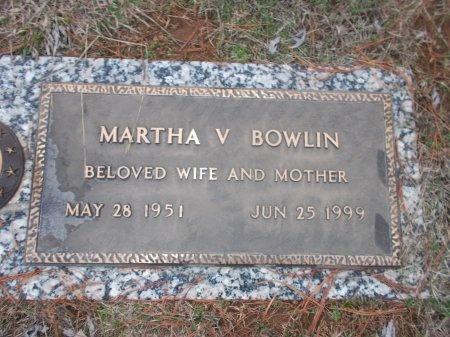 BOWLIN, MARTHA V. - Jefferson County, Tennessee | MARTHA V. BOWLIN - Tennessee Gravestone Photos