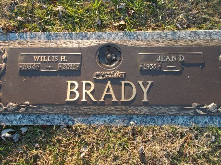 BRADY, WILLIS H. - Jefferson County, Tennessee | WILLIS H. BRADY - Tennessee Gravestone Photos