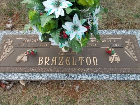 BRAZELTON, MARGARET L. - Jefferson County, Tennessee | MARGARET L. BRAZELTON - Tennessee Gravestone Photos