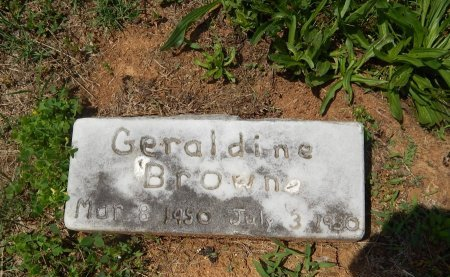 BROWNE, GERALDINE - Jefferson County, Tennessee | GERALDINE BROWNE - Tennessee Gravestone Photos