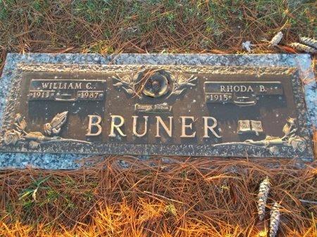 BRUNER, RHODA B. - Jefferson County, Tennessee | RHODA B. BRUNER - Tennessee Gravestone Photos