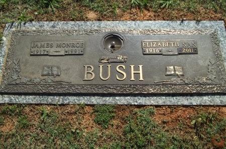 THOMPSON BUSH, ELIZABETH NAN - Jefferson County, Tennessee | ELIZABETH NAN THOMPSON BUSH - Tennessee Gravestone Photos