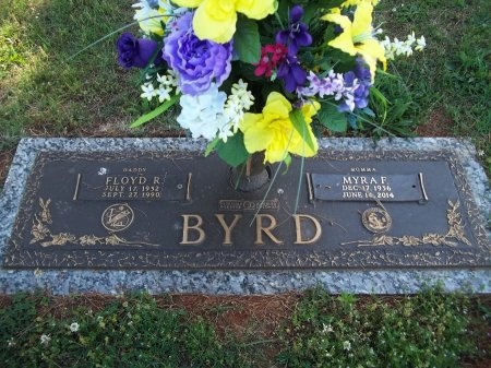 BYRD, MYRA FAY - Jefferson County, Tennessee | MYRA FAY BYRD - Tennessee Gravestone Photos