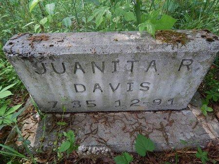 DAVIS, JUANITA RUTH - Jefferson County, Tennessee | JUANITA RUTH DAVIS - Tennessee Gravestone Photos