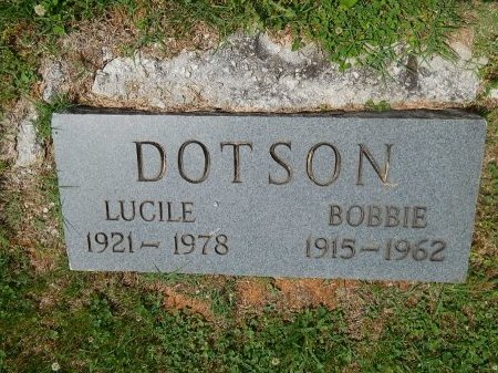 DOTSON, LUCILE - Jefferson County, Tennessee | LUCILE DOTSON - Tennessee Gravestone Photos