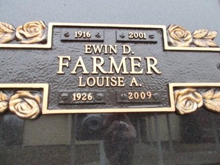 FARMER, LOUISE A. - Jefferson County, Tennessee | LOUISE A. FARMER - Tennessee Gravestone Photos