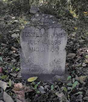 FARMER, JESSIE M - Jefferson County, Tennessee | JESSIE M FARMER - Tennessee Gravestone Photos