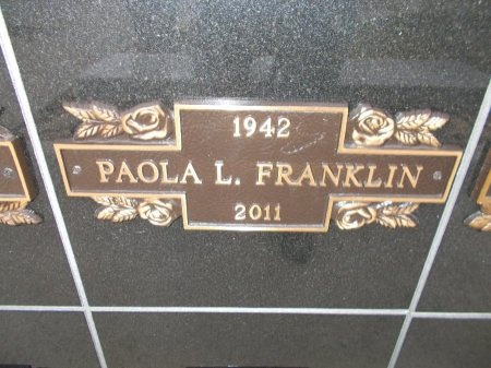 FRANKLIN, PAOLA L. - Jefferson County, Tennessee | PAOLA L. FRANKLIN - Tennessee Gravestone Photos