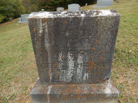 HICKMAN, AUVERGNE - Jefferson County, Tennessee | AUVERGNE HICKMAN - Tennessee Gravestone Photos
