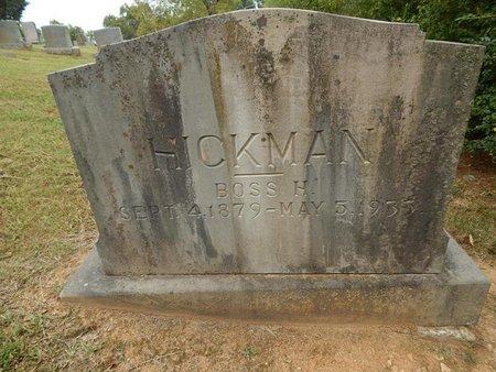 HICKMAN, BOSS H - Jefferson County, Tennessee | BOSS H HICKMAN - Tennessee Gravestone Photos