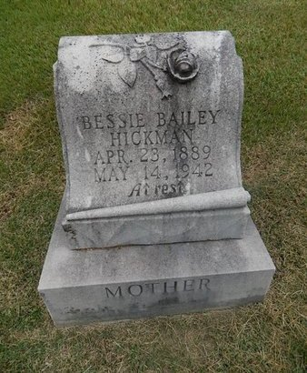 HICKMAN, BESSIE - Jefferson County, Tennessee | BESSIE HICKMAN - Tennessee Gravestone Photos
