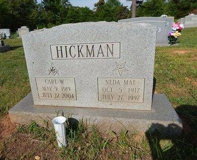 HICKMAN, CARL W - Jefferson County, Tennessee | CARL W HICKMAN - Tennessee Gravestone Photos