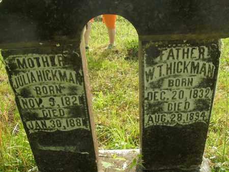 HICKMAN, W T - Jefferson County, Tennessee | W T HICKMAN - Tennessee Gravestone Photos