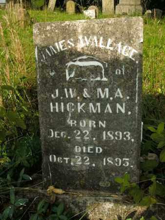 HICKMAN, JAMES WALLACE - Jefferson County, Tennessee | JAMES WALLACE HICKMAN - Tennessee Gravestone Photos