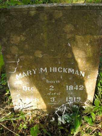 HICKMAN, MARY M - Jefferson County, Tennessee | MARY M HICKMAN - Tennessee Gravestone Photos