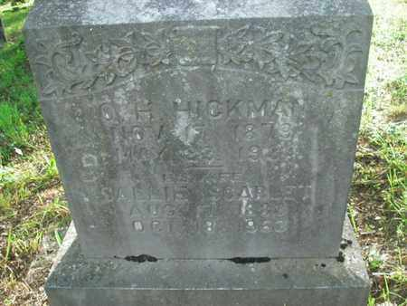 HICKMAN, SALLIE SCARLET - Jefferson County, Tennessee | SALLIE SCARLET HICKMAN - Tennessee Gravestone Photos