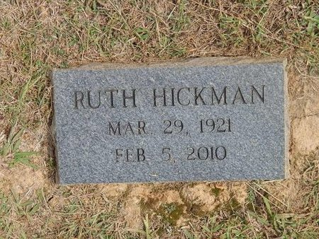 HICKMAN, RUTH - Jefferson County, Tennessee | RUTH HICKMAN - Tennessee Gravestone Photos