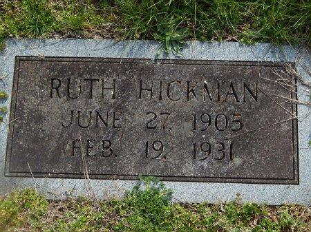 HICKMAN, RUTH - Jefferson County, Tennessee   RUTH HICKMAN - Tennessee Gravestone Photos