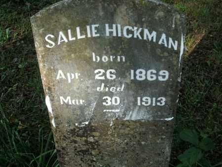 HICKMAN, SALLIE - Jefferson County, Tennessee | SALLIE HICKMAN - Tennessee Gravestone Photos