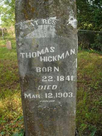 HICKMAN, THOMAS - Jefferson County, Tennessee | THOMAS HICKMAN - Tennessee Gravestone Photos