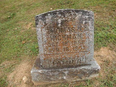 HICKMAN, THOMAS L - Jefferson County, Tennessee | THOMAS L HICKMAN - Tennessee Gravestone Photos