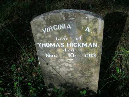 HICKMAN, VIRGINIA A - Jefferson County, Tennessee | VIRGINIA A HICKMAN - Tennessee Gravestone Photos