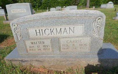 HICKMAN, WALTER - Jefferson County, Tennessee | WALTER HICKMAN - Tennessee Gravestone Photos