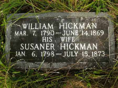 HICKMAN, WILLIAM - Jefferson County, Tennessee | WILLIAM HICKMAN - Tennessee Gravestone Photos